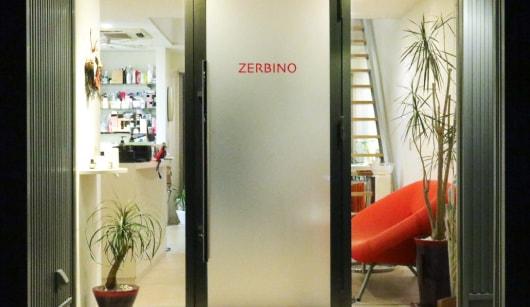 ゼルビーノ ナトゥーラの店舗入り口